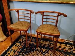 Pair of kohn armchairs