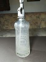 Antik szoknyás szódásüveg