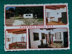 Kiskőrös,Petőfi Ház,postatiszta képeslap,1987