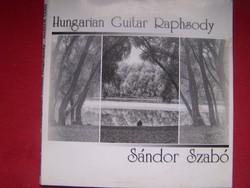 Gitárzene CD Sándor Szabó  klasszikus gitárzene neves előadótól