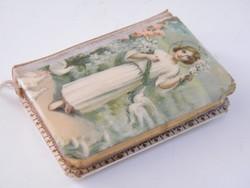 Nagyon szép miniatűr német nyelvű könyvecske 1904-ből