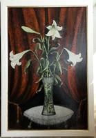 Nagyon régi kép, vadonatúj keretben. 60x40 cm. Mayer István szignóval.