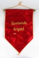 1E675 Régi szocialista brigád zászló
