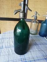 1 literes szódásűveg zöld