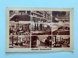 Régi képeslap Balatonlelle levelezőlap