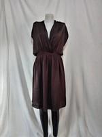 Különleges fazonú sötétbarna  ZARA ruha (M)