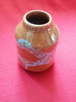 Gyönyörű népi kerámia váza hibátlan!