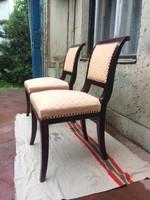Felújított biedermeier székek