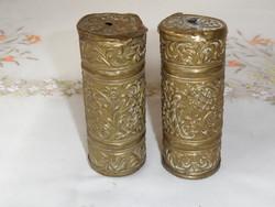 Antik, régi falióra súly ( 2 db.)