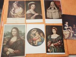 Régi használt, és postatiszta képeslapok  A 12 db képeslap egyben: 3400 Ft,