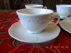 Zsolnay barokk, fehér kávés csésze