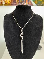Ezüst ékszer garnitúra nyaklánc +karkötő