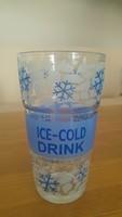 ICE-GOLD DRINK Üveg pohár