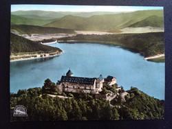 Schloss Waldeck Fliegeraufnahme Postatiszta Képeslap