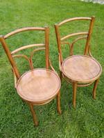 Thonet szék pár,2 db,szék garnitúra