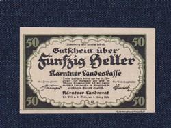 Ausztria Karintia 50 heller szükségpénz 1920 (id51702)
