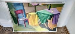 Koszta R. festmény