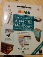 Retró számítógép tankönyvek: Word és Excel 1995 kezdő