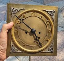Óra szerkezet 2 súlyú,súlyhajtàsos, óra fali óra, Junghans Német szerkezet Szecesszió Art Deco stb