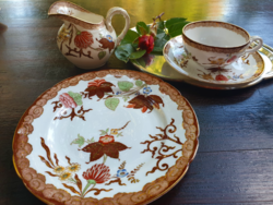 Sarreguemines Minton porcelánfajansz teás reggeliző szett - 1890 Utzschneider