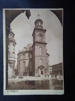 Dr. P. Wolff phot. Vintage Frankfurt Postatiszta Képeslap