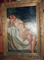 CSAK MA ! Gyönyörű Szántó hatalmas szignált festmény eladó