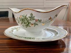 Hollóházi porcelán 1945 Erika Szosz tal