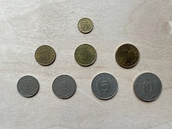 Jugoszlávia Dinár sor 1965-81