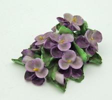 B754 Herendi porcelán virág 1 Ft-ról minimális szirom megpattanással