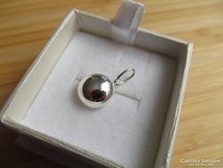 Ezüst lencse medál - Klasszikus fazon - új ékszer