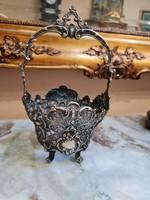 Csodaszép Barokk Ezüst kosárka - 170gramm