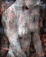 John W. jelzéssel Hatalmas méretű  festmény - Akril, vászon, Vegyes technika 100x80 cm