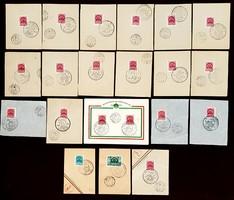 1940. Erdély visszatér elsőnapi bélyeg sorozat
