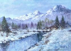 Simon Zoltán - Téli táj