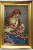 Ivanácz Zsolt József olajfestménye