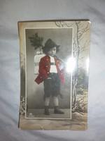 régi képeslap fiúcskával 1906
