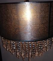 Mennyezeti lámpa textil-akril függőkel.Alkudható!