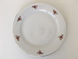 Alföldi virágos lapos tányér