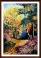 Czinóber - Őszi ragyogás ( 20 x 30, + ajándék keret )