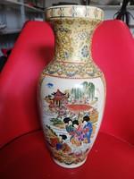 Nagy méretű japán váza