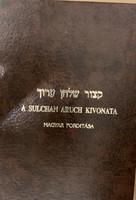 A sulchan aruch kivonata könyv