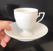 RITKA Herendi Fehér Belvedere 6 db csésze aljával