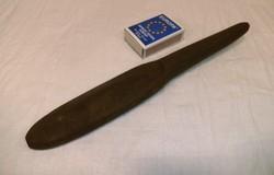 Régi kés - bicska fanőkő, gyűjteményből