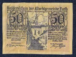 Ausztria Furth 50 heller szükségpénz 1920 (id51563)