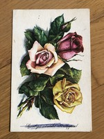 Virágok -Stremnitzer Konrádné rajzos képeslap