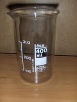 Üveg mérőedény mérőpohár (fp)