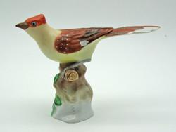 B775 Herendi ritka énekes madár - gyönyörű gyűjtői darab