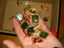 Doboznyi különleges mandzsetta gyűjtemény szeirntem nszk 56 os disszidenstől onix köves ? kagyló stb