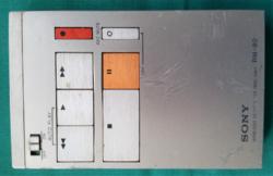 Régi SONY RM-80 vezeték nélküli távirányító magnóhoz.Gyűjtőknek!!!Ritkaság!!!