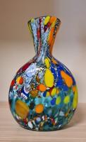 Muránói egyedi formájú váza
